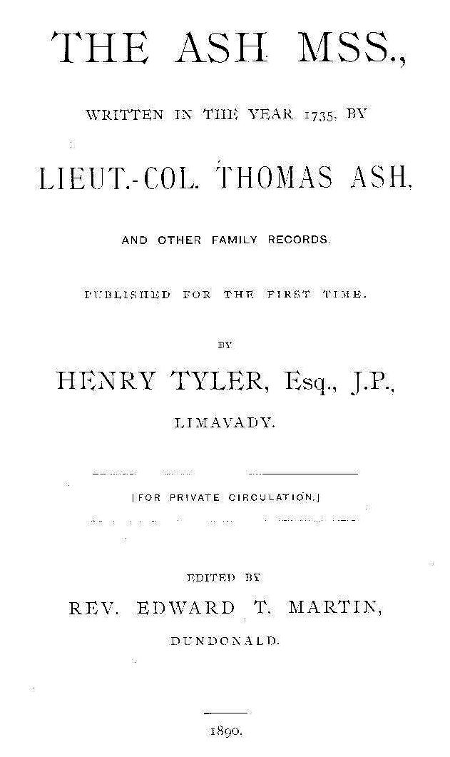 Ash Manuscripts